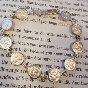 Jewelry - 925 Italy silver angel vintage bracelet